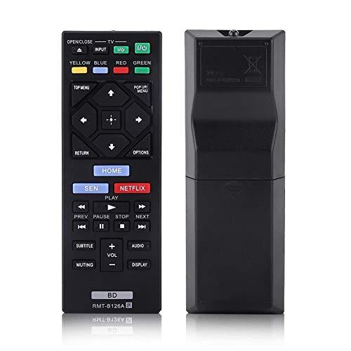 Universal Fernbedienung Ersatz für Sony Blue Ray Player RMT-B126A, Blu-ray Player Fernbedienung für Sony