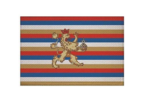 U24 Aufnäher Kurpfalz Fahne Flagge Aufbügler Patch 9 x 6 cm