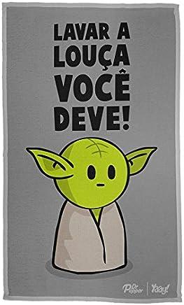Pano de Prato Mini Yoda