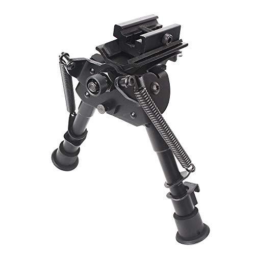 XBF-HUNT, Rifle de Aire Bípode 6-9 Pulgadas Soporte telescópico Soporte Marco Adaptador Soporte Trípode Accesorios de Caza Alcance Montaje Carril