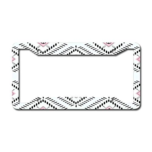 Decorative Car Front License Plate Frames, Indigo Anchor Vanity Tag,Metal Car Plate,Aluminum Novelty License Plate,6.3 X 12.2 Inch