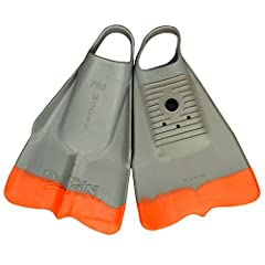 Color: Grey/Orange Small (M: 5-6 / W: 6-7.5) Can be worn on either foot Floats in salt water Great for all kinds of swimmers.