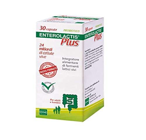 ENTEROLACTIS Plus 30 Capsule - 9.5 g
