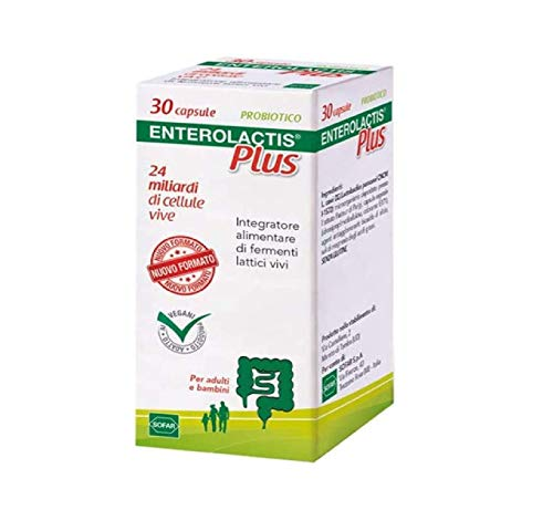 ENTEROLACTIS Plus 30 Capsule - 9.5 g