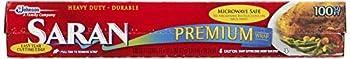 Saran Premium Plastic Wrap 100 Sq Ft