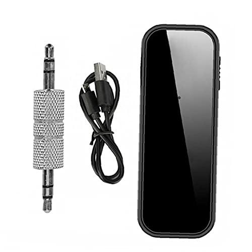 Bluetooth receptor y transmiter adaptador de audio inalámbrico transmisor receptor 2en1 con Aux puerto de 3,5 mm para el hogar sistema de sonido