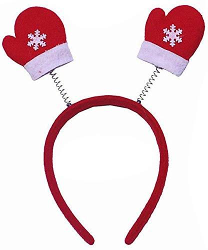 YUY Diadema navidea Cuerno de Reno rbol de Navidad Adornos Diademas de Disfraz para Fiestas navideas 2-7