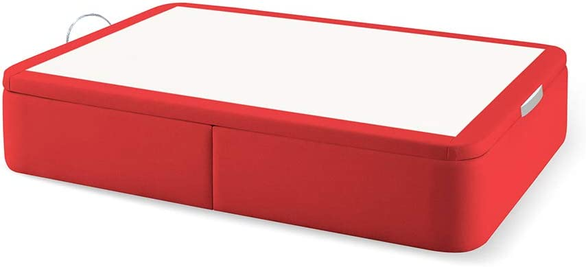 Naturconfort Canapé Premium, Acero, Rojo Ferrari, 135x200cm ...