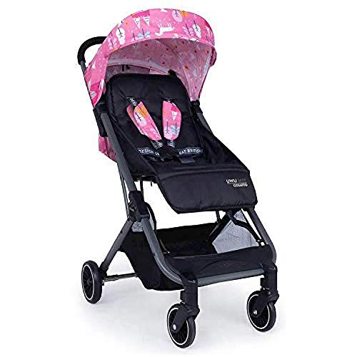 Cosatto UWU Mix Pushchair – Compact City Stroller - Suitable from Birth to Toddler, Easy Fold, Pull Along Handle (Candy Unicorn Land)