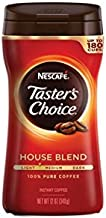 Nescafe Taster's Choice Instant Coffee, Regular, 12 Ounce (Pack of 6)