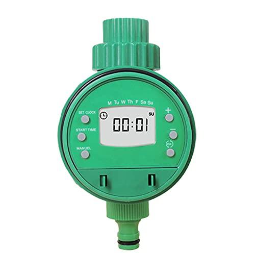 Irrigazione Timer - 1 2  e 3 4  Temporizzatore per Irrigatore Digitale LCD Timer Irrigazione modalità Programmabile Filetto Timer Automatico per Giardino Annaffiatura con Coperchio Impermeabile - 001