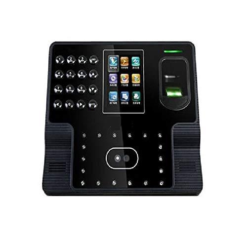 HEQIE-YONGP Timeuhren für Mitarbeiter Kleinunternehmen Facial Recognition Bio Mitarbeiter Gesicht Uhr Dual-Kamera Gesichtsfingerprint Software