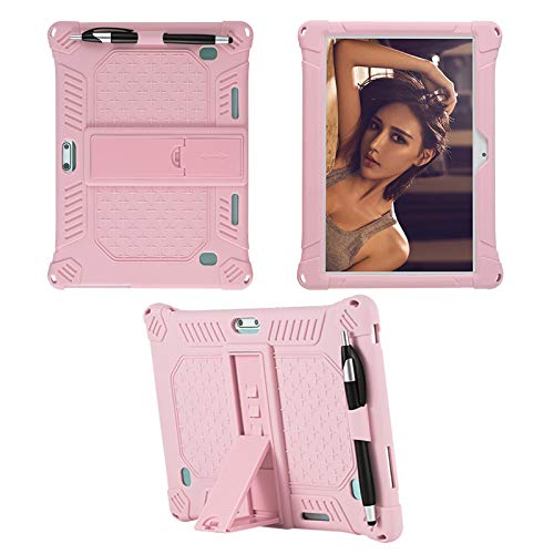 YGoal Funda para TECLAST M30, Dragon Touch K10, YOTOPT 10, BEISTA 10, LNMBBS 10, MEBERRY 10, Vankyo Matrix Pad Z4 10, Dragon Touch 10 and Dragon Touch Max10, Rosado