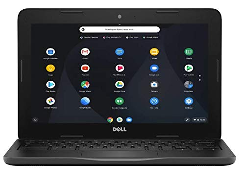 "2019 New Dell Inspiron 11 Chromebook , 11.6"" HD Non-Touchscreen Display, Intel Celeron Dual Core N3060 Processor, 4GB Ram, 16GB eMMc Flash Memory, WiFi, HDMI, USB3.0, Chrome OS"