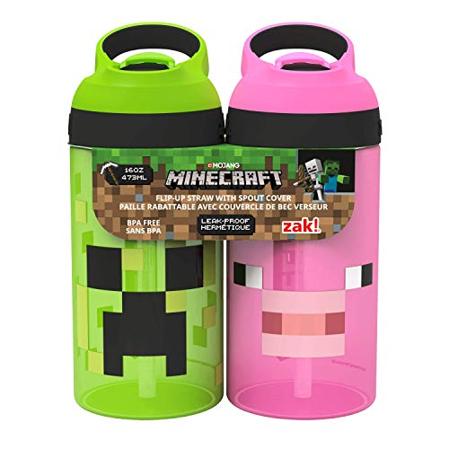Visit the Minecraft Torch-Shaped Water Bottle on Amazon.