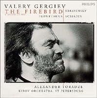 ストラヴィンスキー : バレエ音楽<火の鳥>全曲 (1910年版)、スクリャービン : <プロメテウス-火の詩>