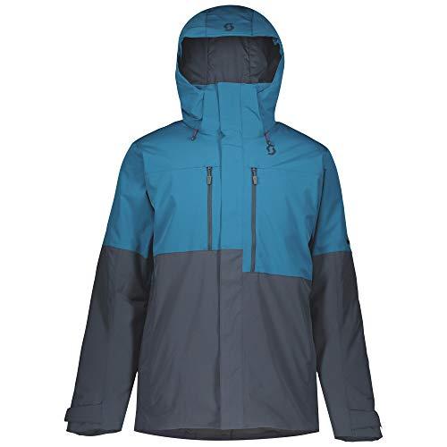 SCOTT Ultimate Dryo 10 Mannen Ski Jas blauw