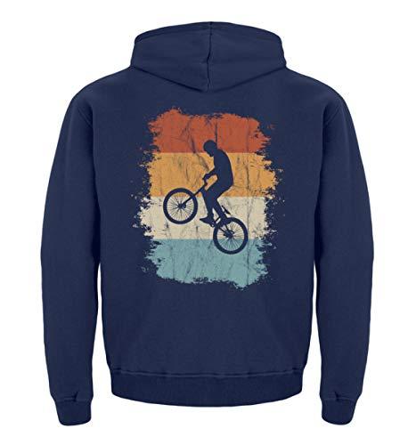 Retro BMX Cross Bicicleta de Regalo para Ciclistas apasionados y Ciclistas de la Cruz - Sudadera con Capucha para niños
