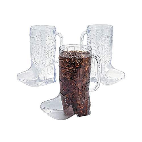 plastic boot beer glass - 9
