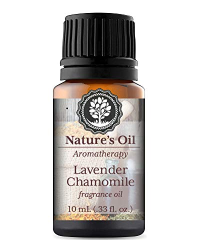 Lavender Chamomile Fragrance Oil 10ml for Aromatherapy Diffuser Oils, Making Soap, Candles, Lotion, Home Scents, Linen Spray