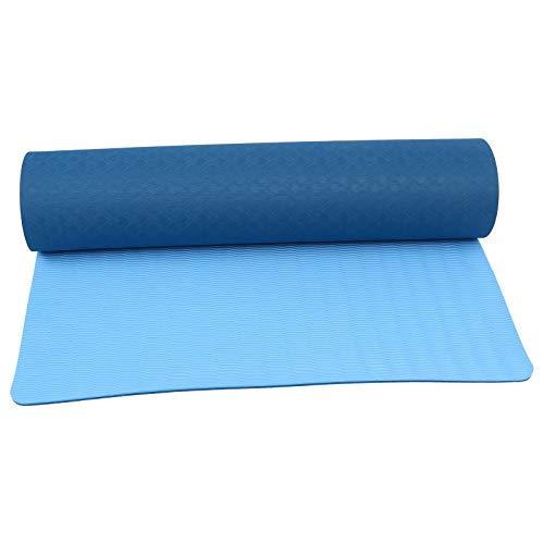 ABOOFAN Esterilla de yoga sin olor antideslizante Yoga Fitness Gimnasia esteras ejercicio Mat