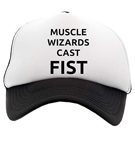 Hopestly Muscle Wizards Cast Fist Gorra de Béisbol Unisex Niños Niña Niñas Ajustable Cap Boy's Girl'S Children's Adjustable