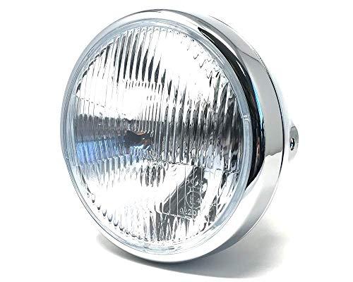 Retro motorfiets koplamp 7.5