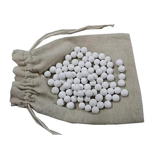 CANDeal Blindbackkugeln aus Keramik 500g für Tarte und Quiche mit Aufbewahrungstasche