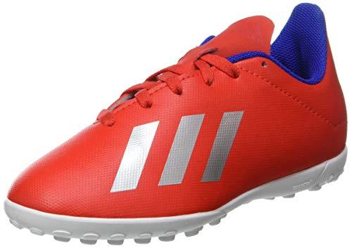 Adidas X 18.4 TF J - Botas de fútbol, Unisex Niño, Multicolor, 33 EU
