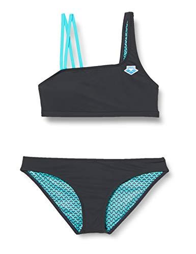 ARENA Damen Bikini Icons Mono, ash Grey, 36