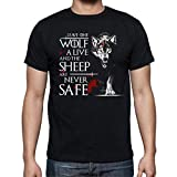 The Fan Tee Camiseta de Hombre Juego de Tronos Tyrion Snow Dragon Daenerys Stark 063 M
