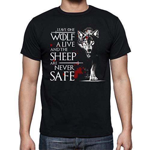 The Fan Tee Camiseta de Hombre Juego de Tronos Tyrion Snow Dragon Daenerys Stark 063 L