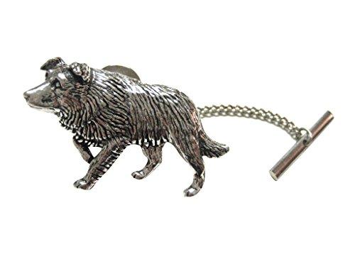 Kiola Designs Border Collie Dog Tie Tack