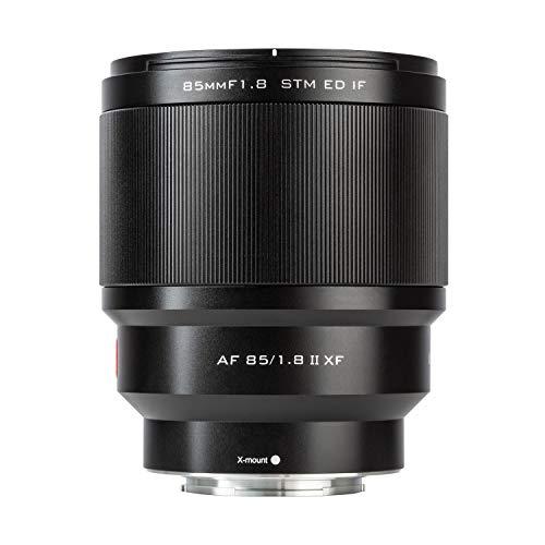 VILTROX PFU RBMH 85mm F1.8 II Vollformat Autofokus Prime Objektiv Portrait AF für Fuji X Mount Kamera X-T3 X-T30 X-T20 X-T2 X-T10 X-M1 X-E1 X-Pro 2 X-Pro 3