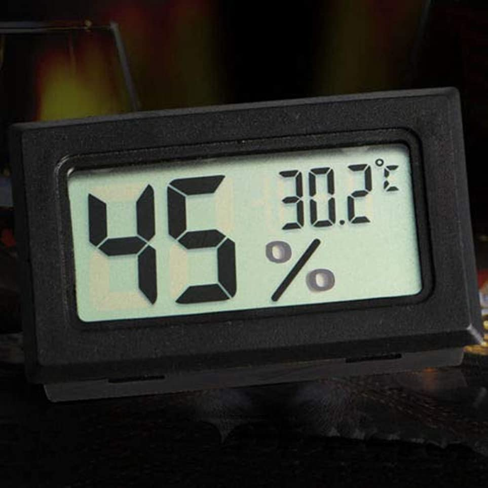 いくつかの模索蒸し器ZoCenterShop(TM) 新しいミニデジタルLCD屋内温度湿度計温度計湿度計KY