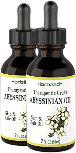 Abyssinian Oil 4 fl oz | Hair and Skin Oil | Paraben, SLS and Fragrance Free | from Crambe Abyssinica Seed | By Horbaach