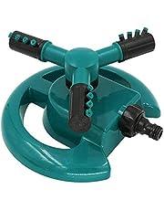 Lawn Sprinkler, 360 Degree Rotating Garden Sprinkler Sprayer, 3-Arm Rotating Automatic Irrigation System Oscillating Sprinkler for Garden Lawn Yard Kids