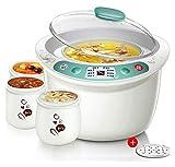 Olla de cocción lenta inteligente cita sincronización lenta cocina con 4 mini portátil Pot Multicooker Fry sopa de cocido steame Hervir adecuados for el vapor de Cook Guiso Familia ( Color : A )