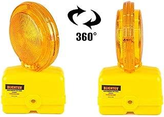Troy Safety BLIGHT6V-1 Premium 03-10-3WAY6V Polycarbonate Barricade Light, 2-sided Visibility, Photocell, UV Coated