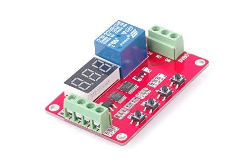 KNACRO Digital Voltage Comparator 0-100V Voltage Measurement Control Voltage Measuring Charge Discharge Protection Overvoltage Undervoltage Overload Protection 5V