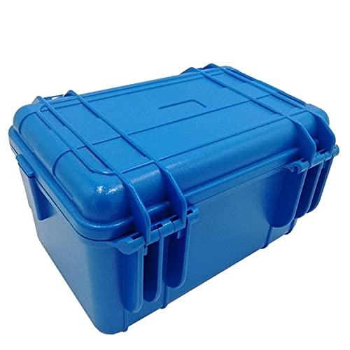 328x235x168mm Caja de instrumentos de protección de seguridad Equipo de caja de herramientas Maleta al aire libre impermeable a prueba de golpes con herramientas de esponja Organizadores Caja de metal