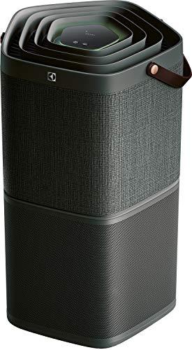 Electrolux PA91-404GY Vernetzter Luftreiniger mit Batterieschutz und Geruchsfilter bis 92 qm, dunkelgrau