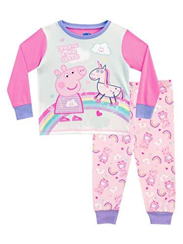 Peppa Wutz Mädchen Peppa Pig Schlafanzug Rosa 98