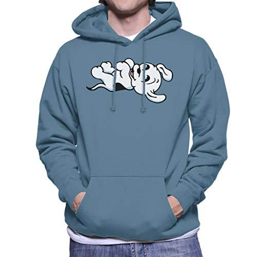 Betty Boop Pudgy speelse mannen Hooded Sweatshirt