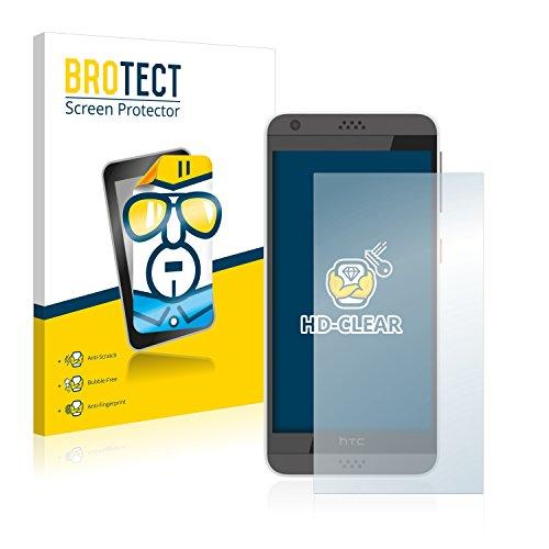 BROTECT Schutzfolie kompatibel mit HTC Desire 630 (2 Stück) klare Bildschirmschutz-Folie