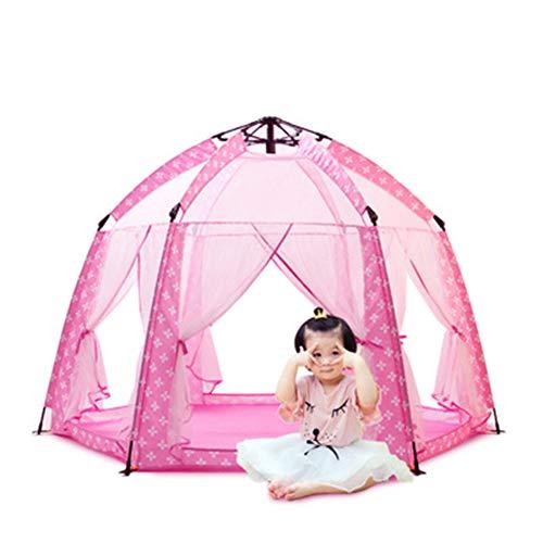 LZNK Tienda de campaña para niños para Interior y Exterior con Mosquitos Castillo Princesa Tienda de campaña para ensueño casa Velocidad Abierta