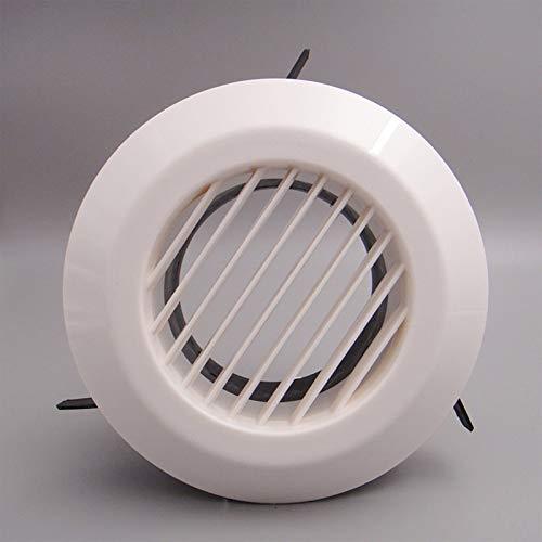 XuBaofu-SH, 4 inch 6 inch ABS PP luchtklep plafond of muur gemonteerd luchtrooster, ventilatie luchtverdeler voor airconditioning uitlaat