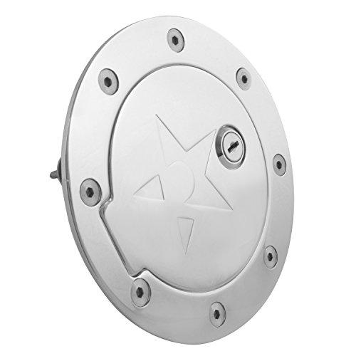 RBP (RBP-147CK) Chrome Locking Gas Door for Ford F-150
