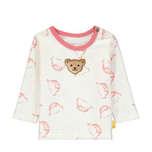 Steiff Baby-Unisex Sweatshirt, Rot (Mauveglow 3021), 56 (Herstellergröße: 056)