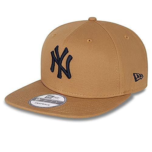 New Era 9Fifty Essential NY Yankees Wheat - Gorra, diseño de NY Yankees, Hombre, trigo, M-L